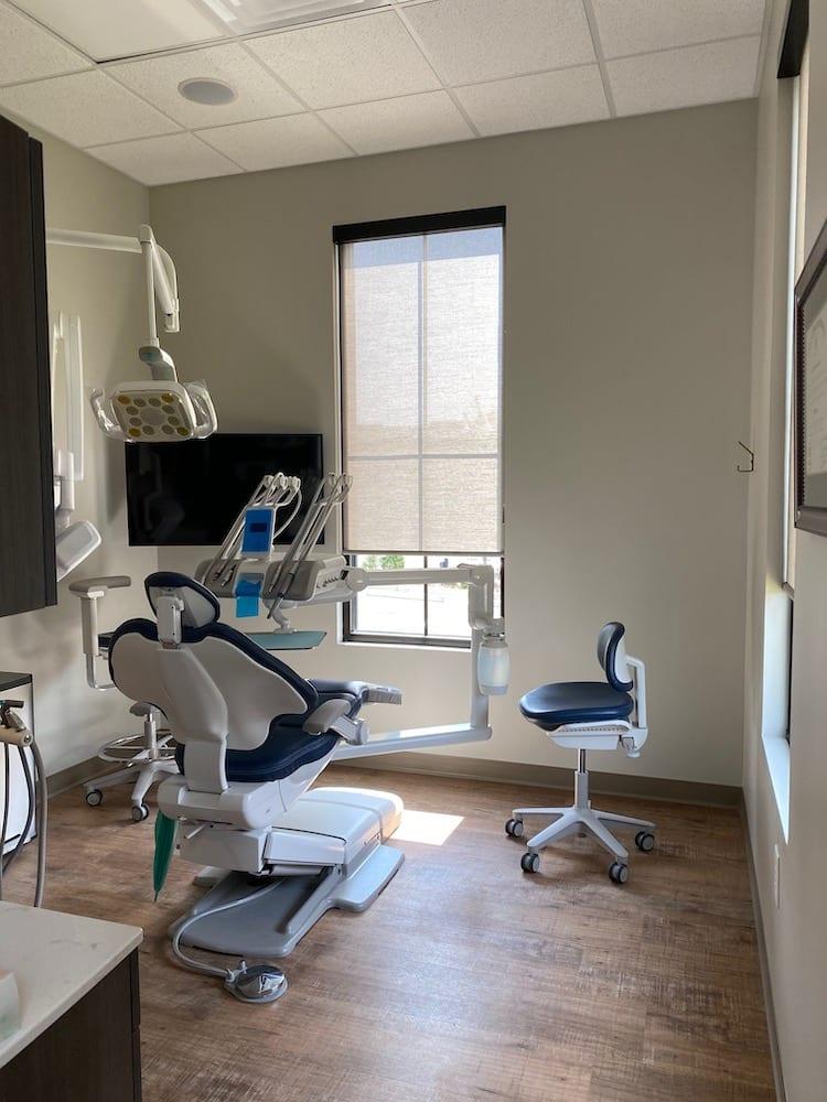 Linton Dental interior operatory